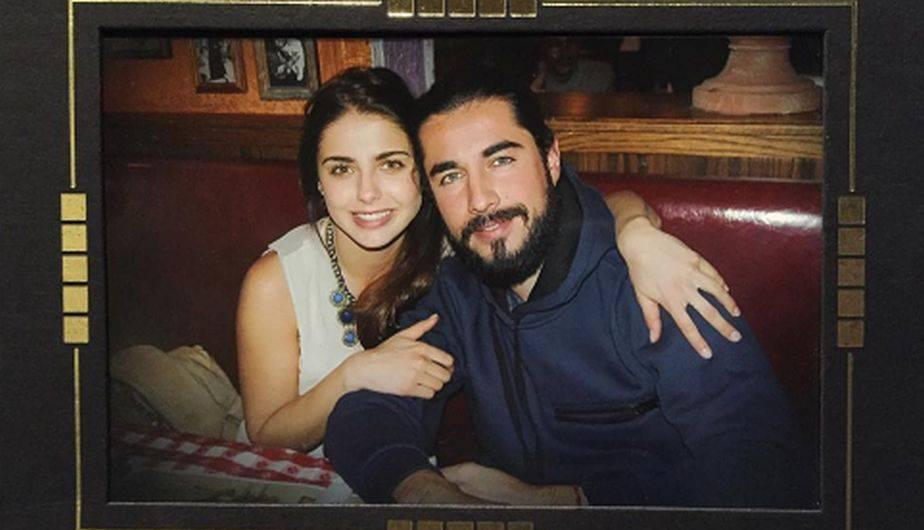 Michelle Renaud ya tiene 38 semanas de embarazo y por estos días disfruta de la tranquilidad del mar junto a su esposo Josué Alvarado. (Foto: Instagram)