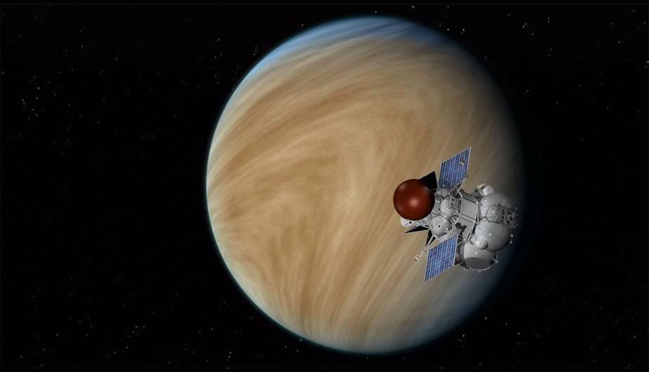 Concepto artístico de un orbitador de la misión Venera-D. (Foto: NASA/JPL-Caltech)