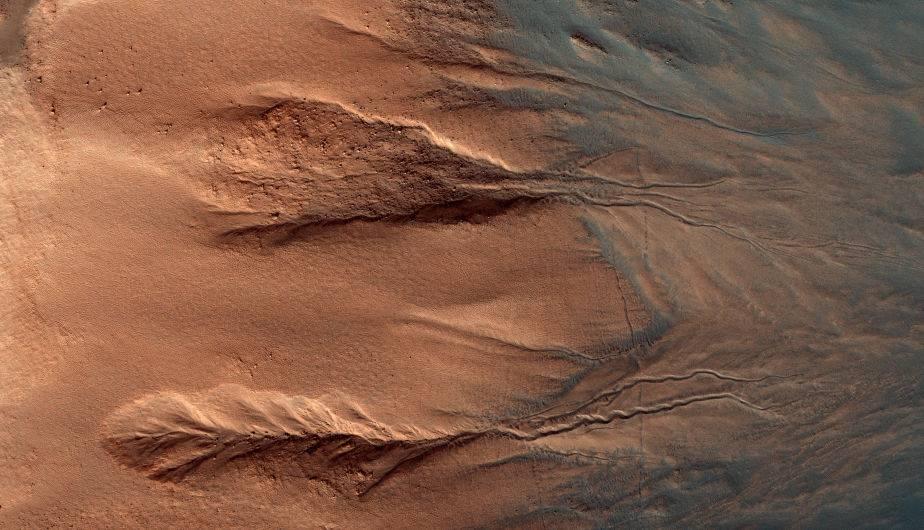 El difícil terreno de Marte. (Foto: NASA)