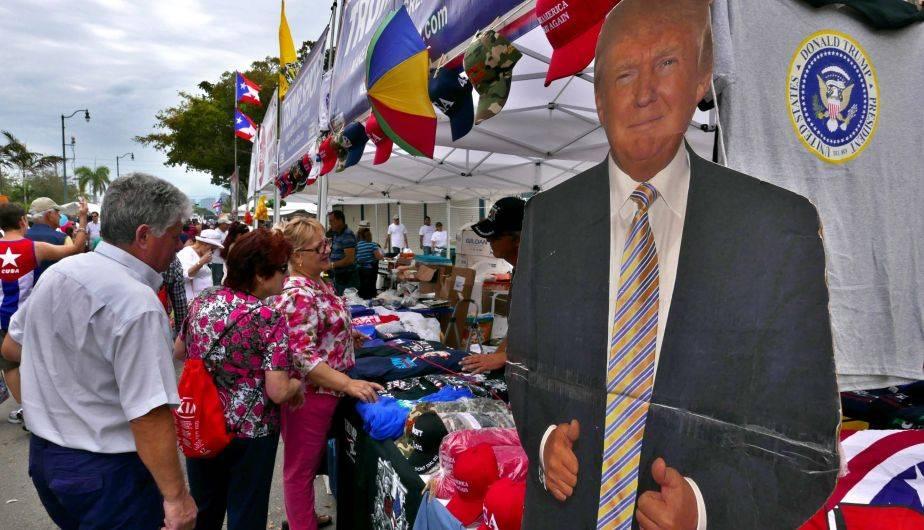 El domingo 12 se celebró una edición más del tradicional Carnaval de la Calle Ocho en Miami (EFE)