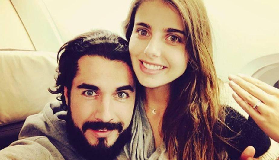 La actriz Michelle Reanud le dio la bienvenida a su primer hijo durante el último domingo y a su lado estuvo su esposo Josué Alvarado. (Foto: Instagram)