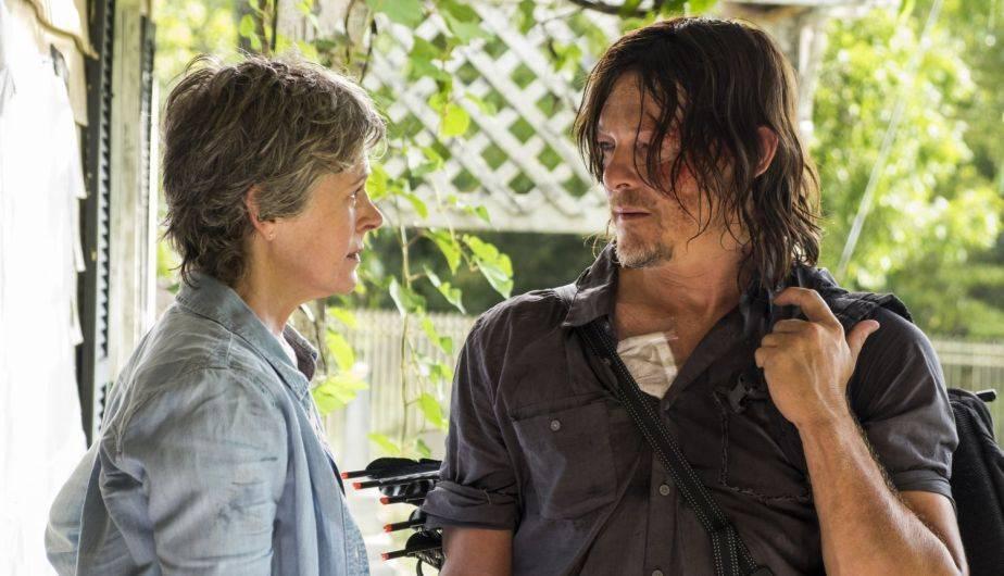 Carol descubrió que Daryl mintió cuando dijo que todos en Alexandria estaban bien (Foto: The Walking Dead / AMC)
