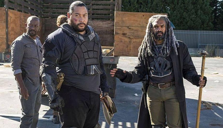 En 'Bury Me Here' el kingdom tuvo dos pérdidas humanas muy importantes (Foto: The Walking Dead / AMC)
