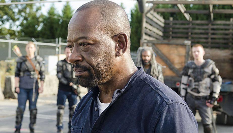 En 'Bury me here' Morgan recordó la muerte de su hijo Duane (Foto: The Walking Dead / AMC)