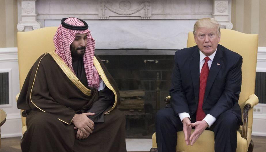 Donald Trump se reunió en la Casa Blanca con el segundo príncipe heredero saudí, Mohamed bin Salman (EFE)