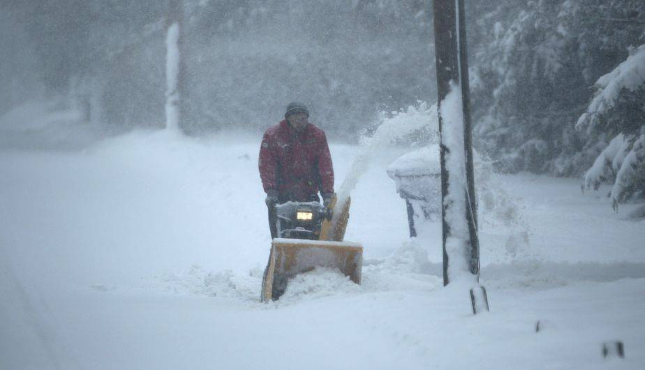 El nordeste de Estados Unidos se encuentra bajo nieve a causa de un fuerte temporal que ha afectado a varios estados (EFE)