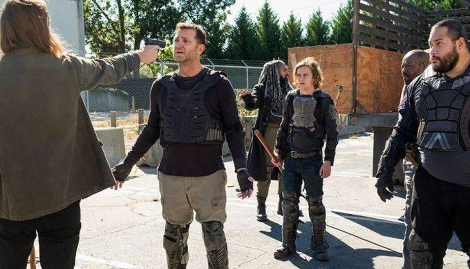 La muerte de Benjamin desestabilizó a Morgan, y asesinó a Richard (Foto: The Walking Dead / AMC)