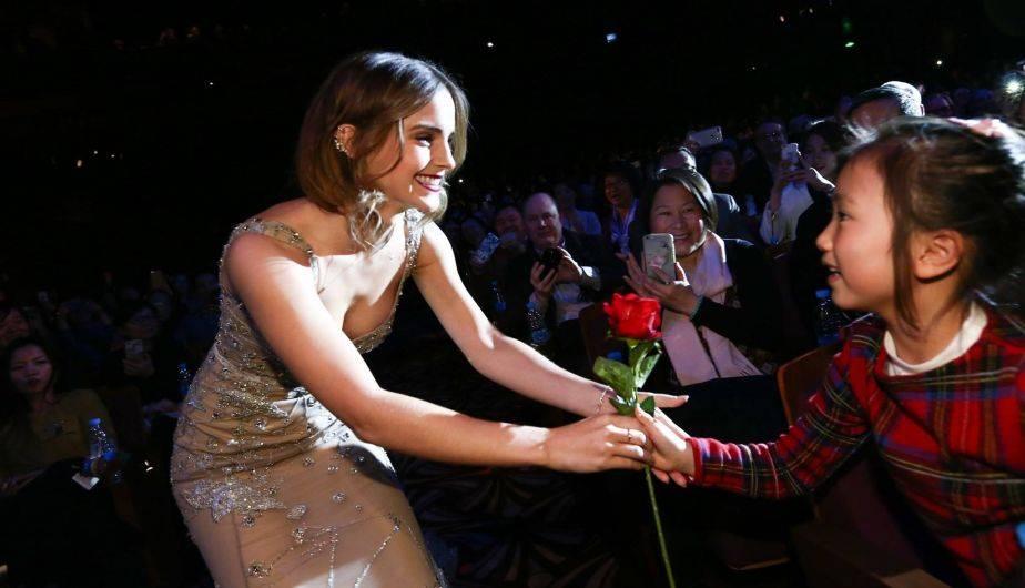 Han filtrados unas fotos íntimas de Emma Watson (Foto: Facebook / Beauty and the Beast)