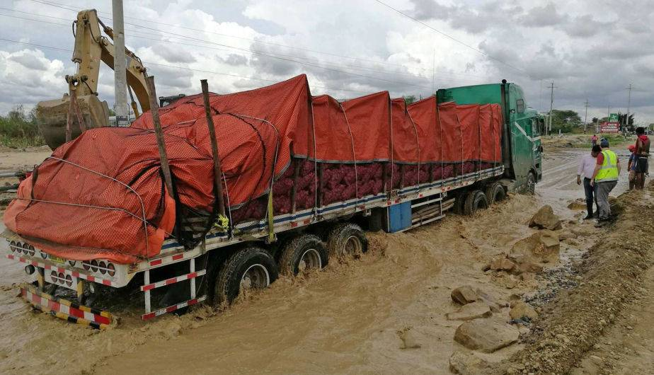 Inundaciones en el Perú. (Foto: EFE)