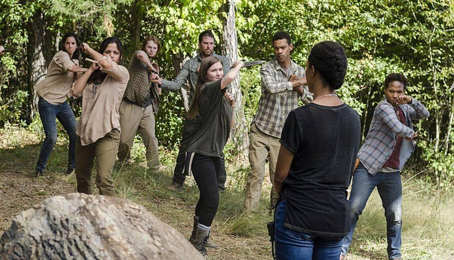 Sasha entrena a los miembros de Hilltop para la guerra contra los 'saviors' (Foto: The Walking Dead / AMC)