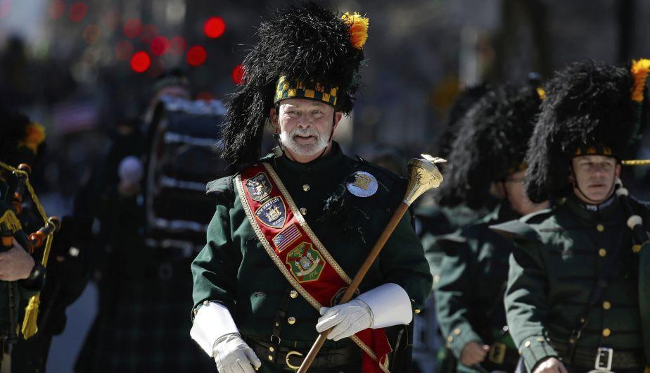 Nueva York también celebró el tradicional Día de San Patricio (EFE)