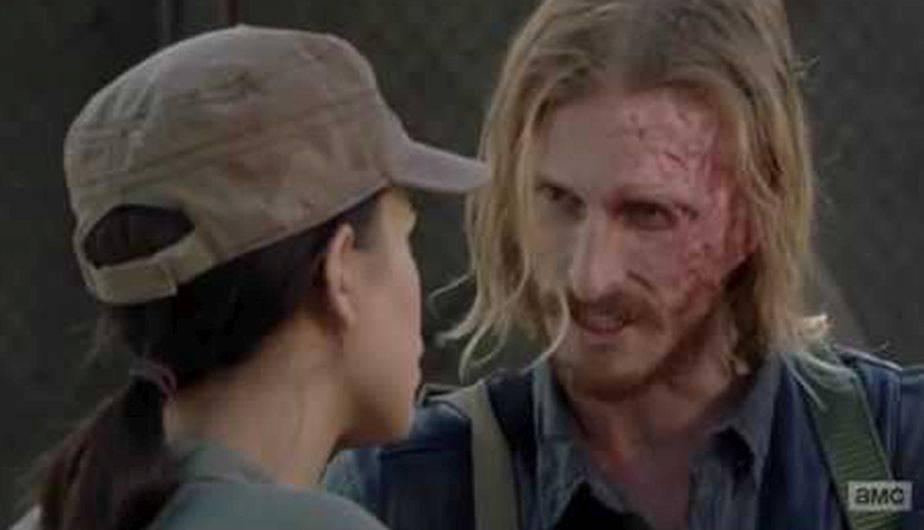 Podría tratarse de Dwight (Foto: The Walking Dead / AMC)