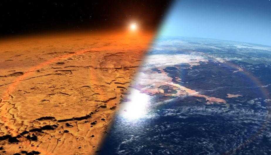 Marte sufrió un cambio drástico en su clima. (Foto: NASA)