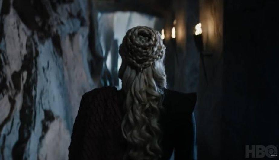 Daenerys es vista paseando por un castillo (Foto: Game of Thrones / HBO)