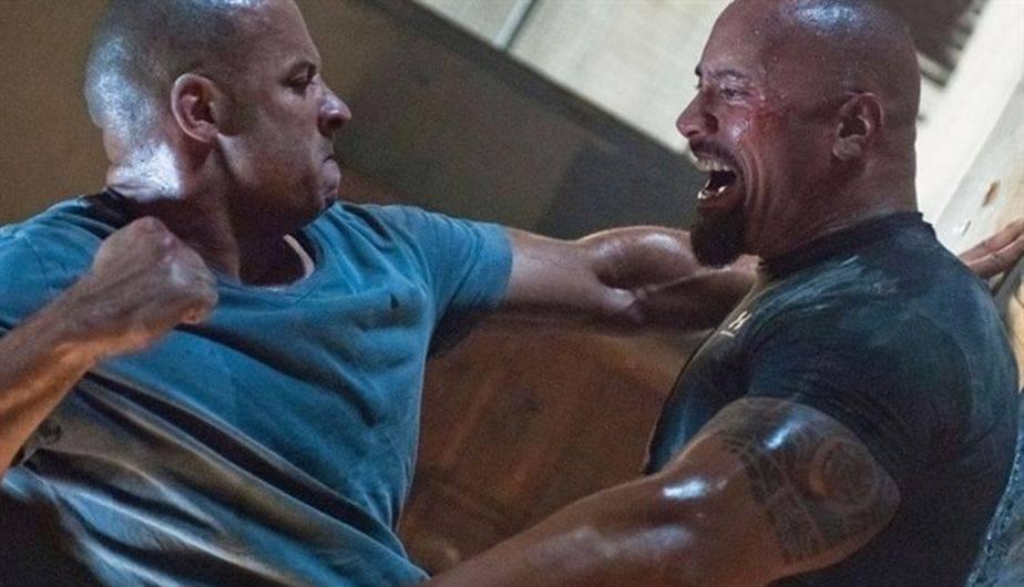 Los problemas entre Vin Diesel y Dwayne Johnson no han terminado (Foto: Universal Pictures)