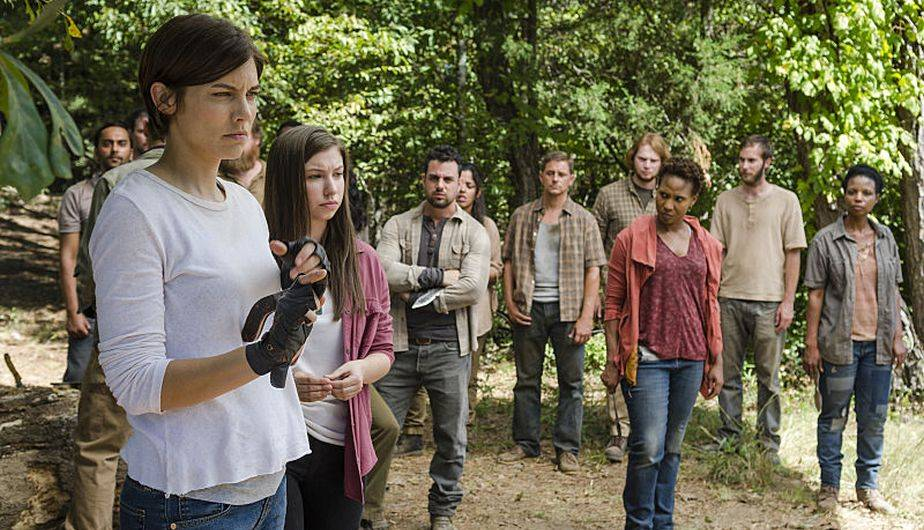 1. MAGGIE TOMARÁ EL MANDO (Foto: The Walking Dead / AMC)