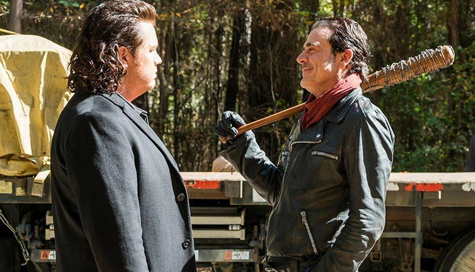 Negan creía que tenía todo a su favor, pero se llevó una desagrable sorpresa en el final de temporada de 'The Walking Dead' (Foto: AMC)