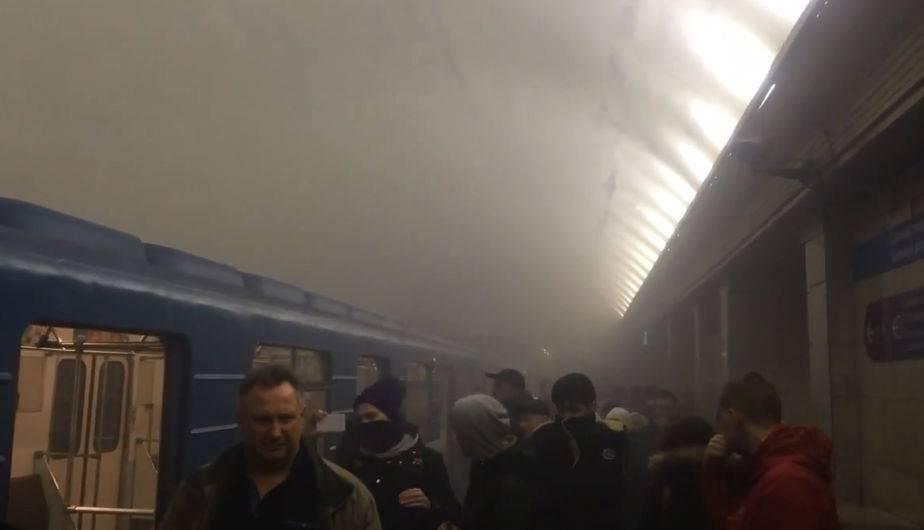 Suben a 14 los muertos por atentado en Metro de San Petersburgo