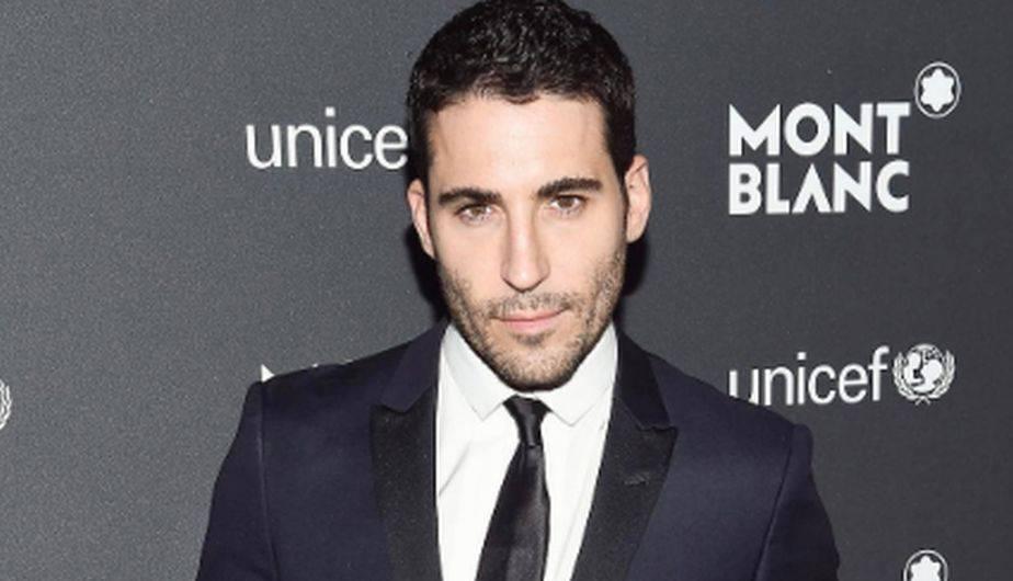 El actor español Miguel Ángel Silvestre es parte del equipo de Montblach y Unicef que lucha para apoyar la educación infantil. (Foto: Instagram)