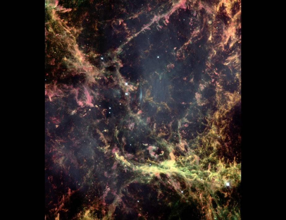 Nebulosa del Cangrejo: Se encuentra a 6.500 años luz de la Tierra. (Foto: NASA)