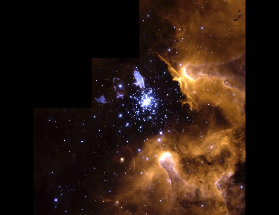 Nebulosa NGC 3603: una nebulosa gigante. (Foto: NASA)
