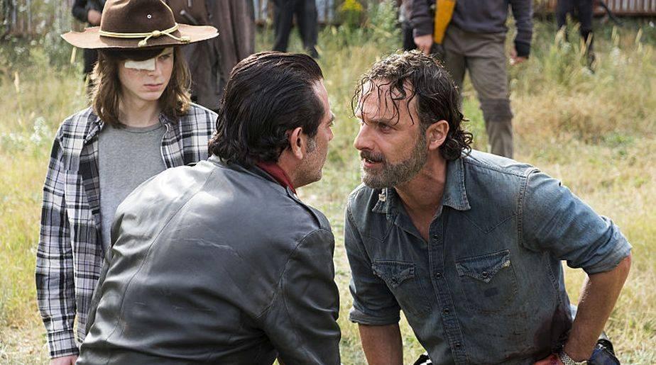 El showrunner Scott Gimple reveló que esta escena fue eliminada del final de la temporada 7 de 'The Walking Dead' (Foto: AMC)
