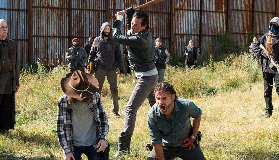 Andrew Lincoln se muestra emocionado por volver al set y luchar contra Negan (Foto: The Walking Dead / AMC)