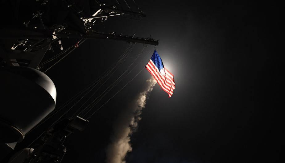 USA lanzó misiles Tomahawk contra base siria. (Foto: US Navy)