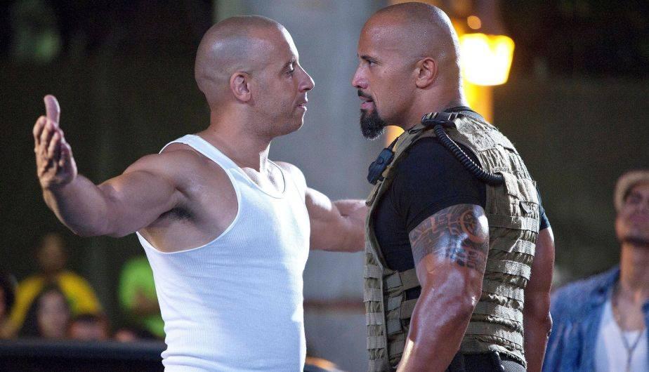 Vin Diesel y Dwayne Johnson supuestamente están en guerra (Foto: Universal Pictures)