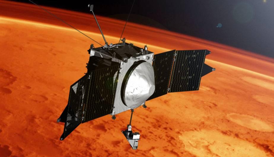Maven de la NASA en Marte. (Foto: NASA)