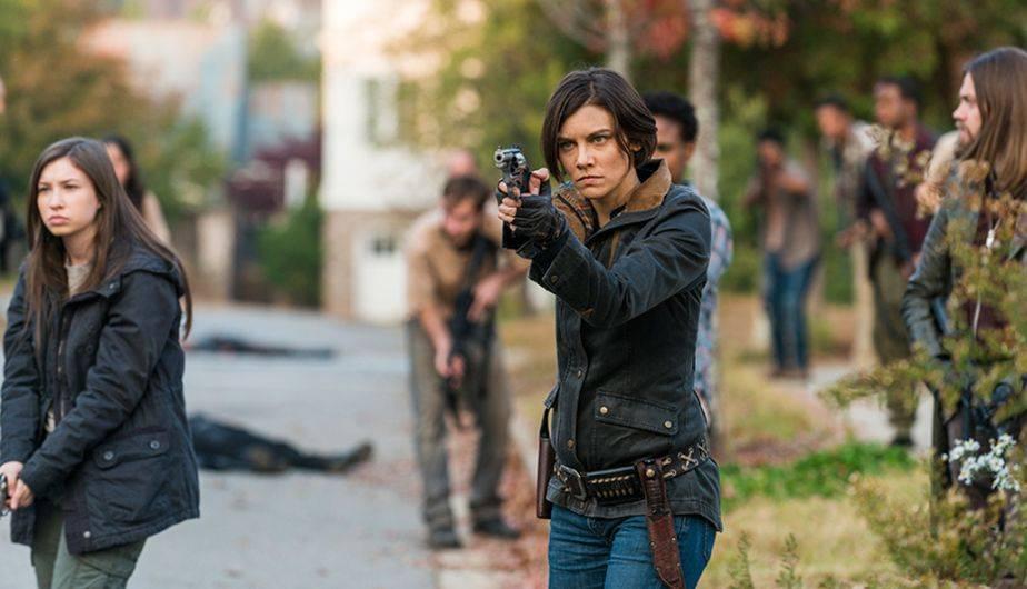 1. EL PARTO DE MAGGIE (Foto: The Walking Dead / AMC)