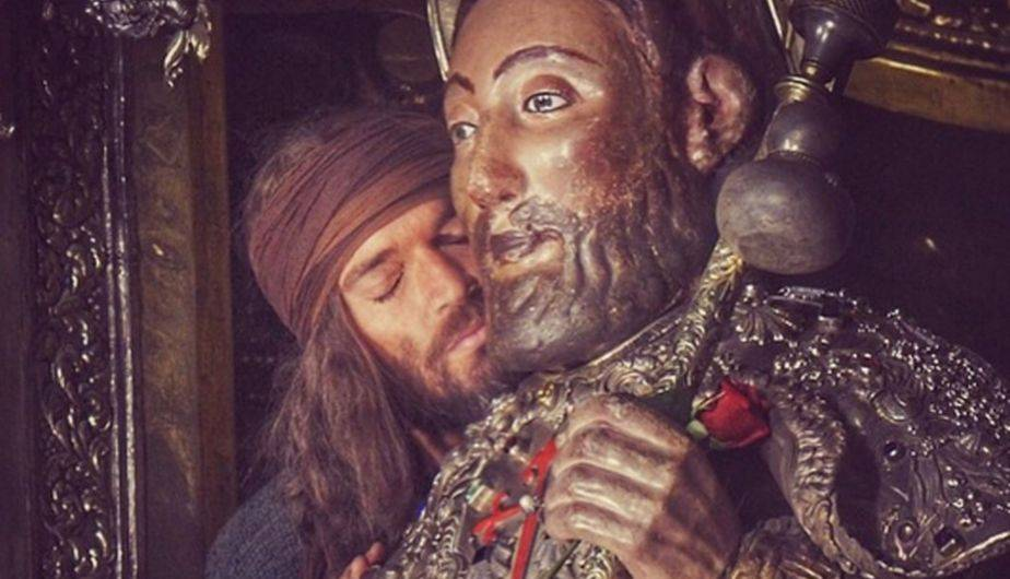 El actor argentino Julián Gil dio vida a uno de los doce apóstoles de Jesús y la cinta que protagoniza se estrena mundialmente. (Foto: Instagram)