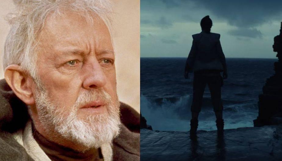 Obi-Wan Kenobi es escuchado en el primer tráiler de 'Star Wars: The Last Jedi' (Foto: Lucasfilm)