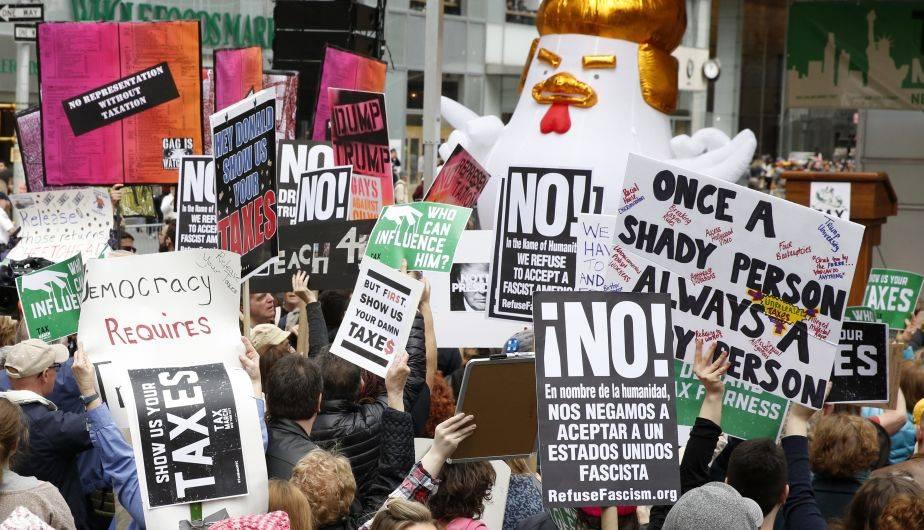 Nueva York marchó una vez más contra Donald Trump (Foto: EFE)