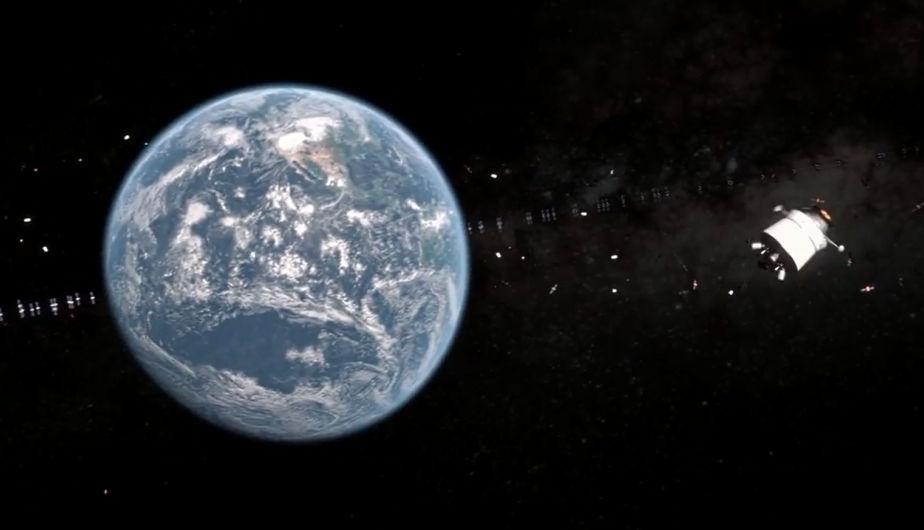 El equipo de la basura espacial de la *ESA *tiene semanalmente una alerta de alto riesgo. (Foto: ESA)