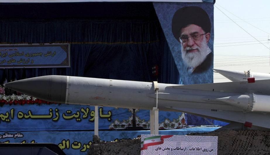Misil iraní. (Foto: EFE)