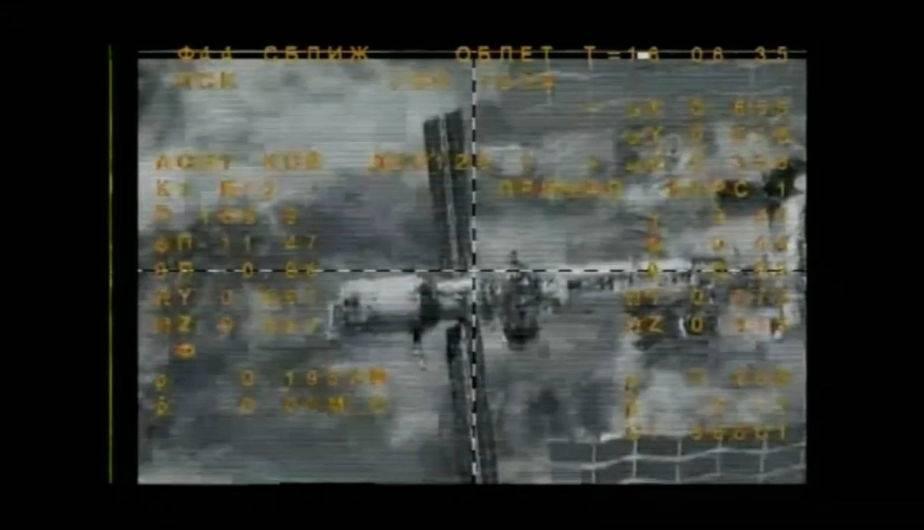 Soyuz de Rusia se acopla a la EEI. (Foto: Roscosmos)
