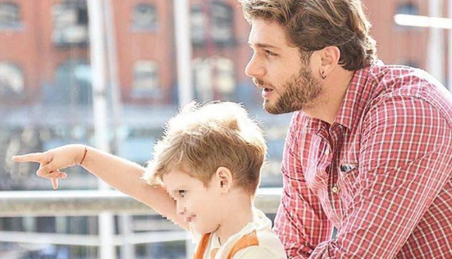 Horacio Pancheri y su hijo Benicio tienen una relación muy especial pese a la distancia. (Foto: Instagram)