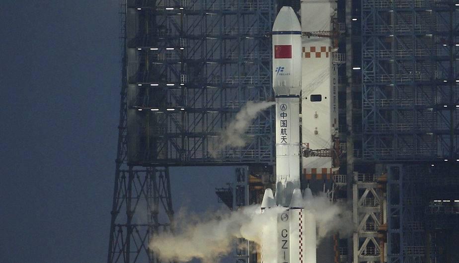 Lanzamiento de Tianzhou 1. (Foto: EFE)