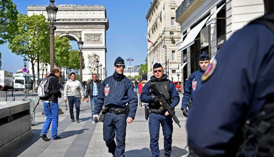 Los Campos Elíseos en París. (Foto: Getty Images)