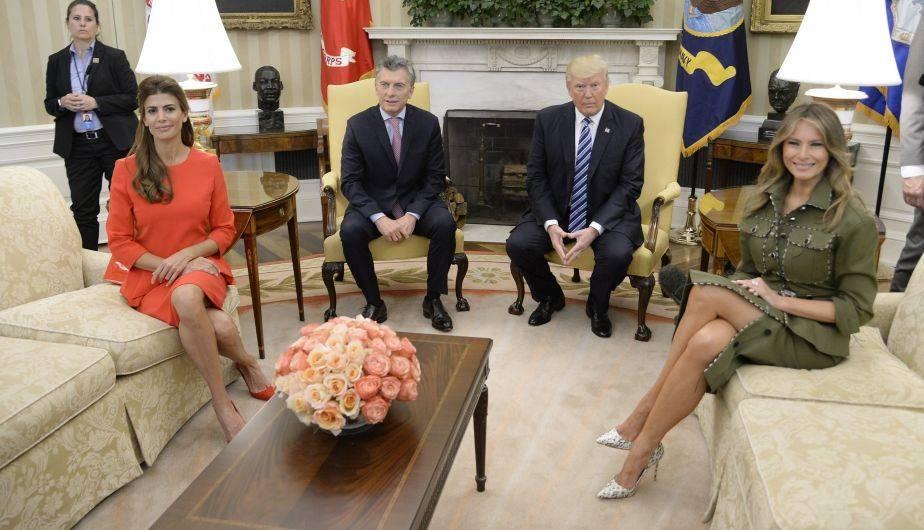 El Presidente se reúne con Trump