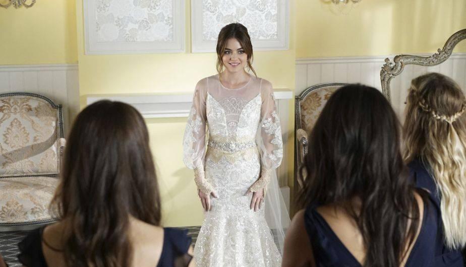 Pretty Little Liars 7x20: Aria Montgomery estrena su vestido de ...