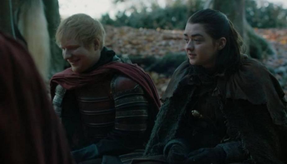 Game of Thrones 7x01: el cameo de Ed Sheeran y su canción para Arya Stark