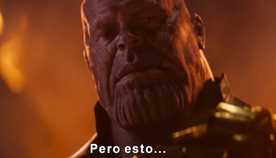Avengers Infinity War Thanos Llega A La Tierra Con Su