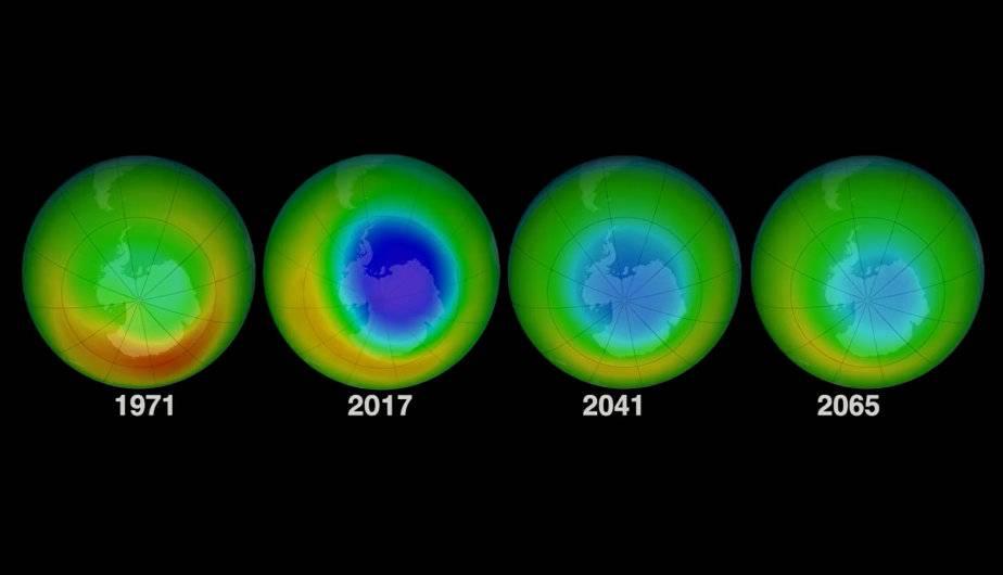 Resultado de imagen de agujero de la capa de ozono