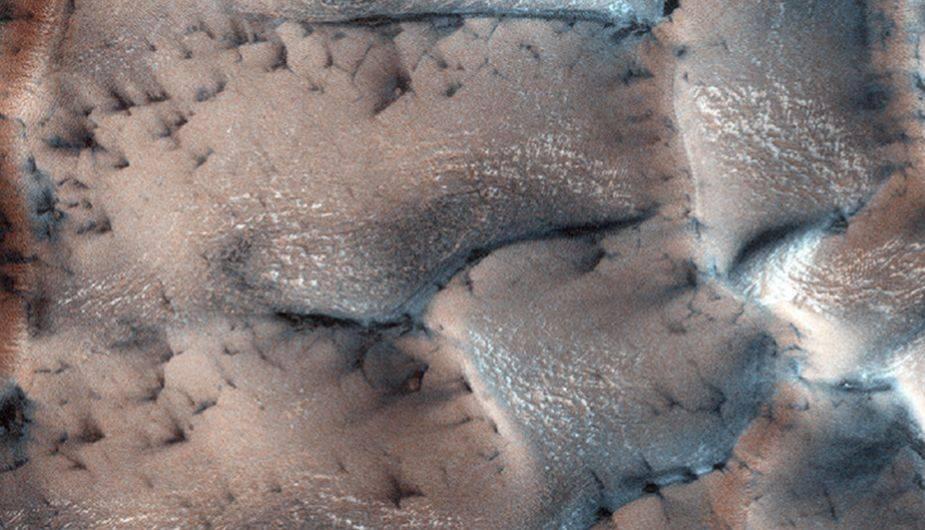 NASA: ¿en Marte hay invierno y nieve? Estas imágenes sorprenden en diciembre