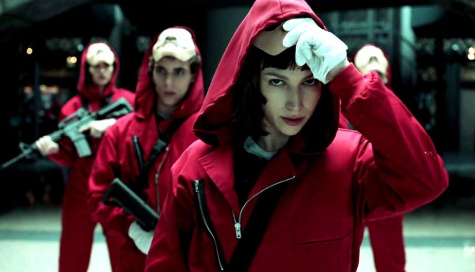 La Casa De Papel Esta Disponible En Netflix