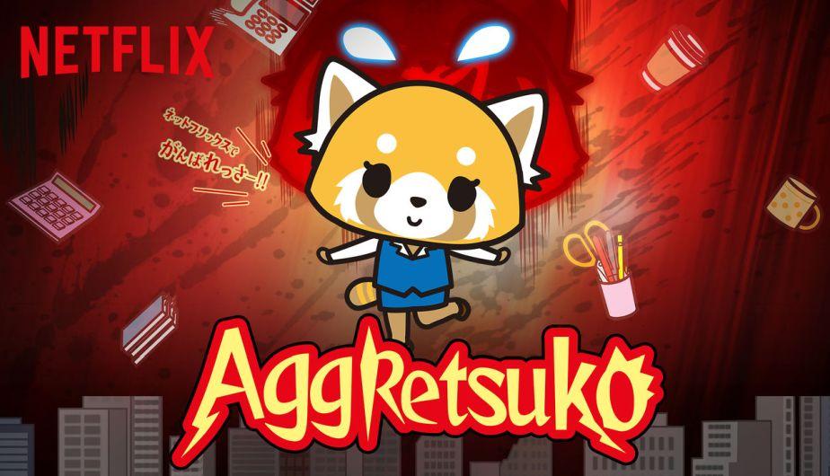 Resultado de imagen para aggretsuko netflix