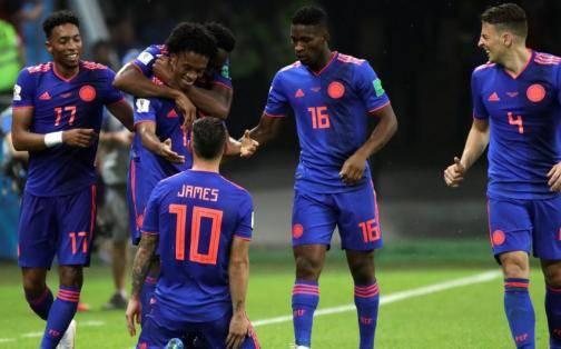 Colombia gana 3-0 a Polonia y aún respira en este Mundial Rusia 2018