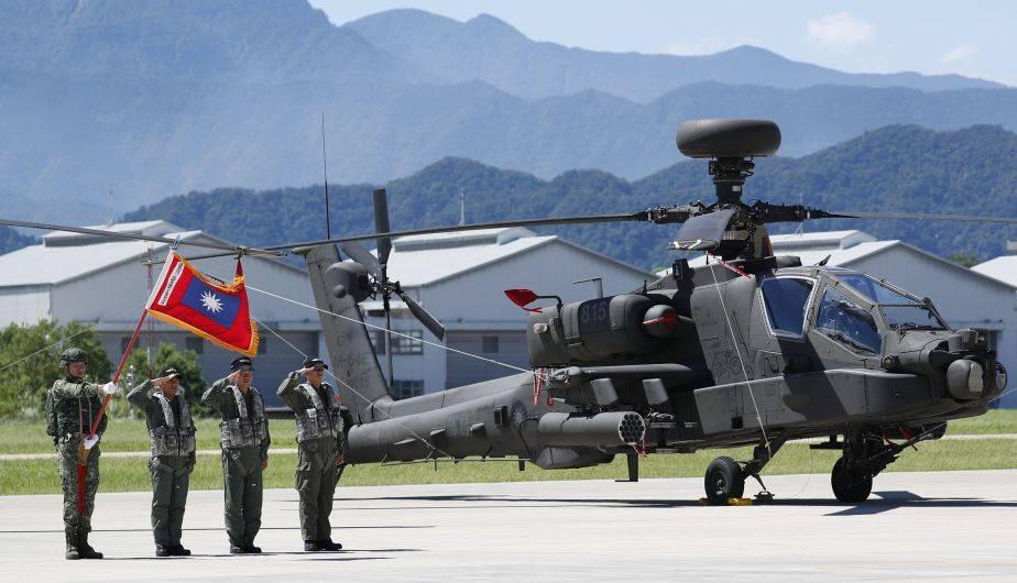 Los poderosos helicópteros Apache AH-64E adquiridos por Taiwán